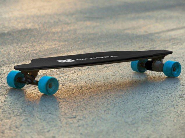 Встречайте: электрический скейтборд Тесла