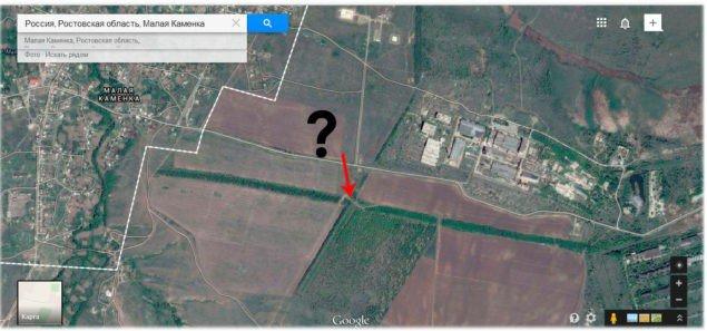 На границе России с Украиной боевики и военная техника передвигаются свободно