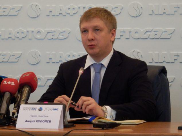 Руководитель Нафтогаза призывает  ЕС к юридическому давлению на Газпром РФ
