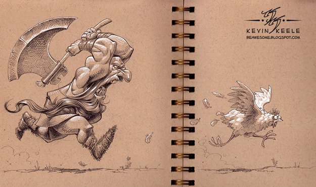 kevin-keele-sketchbook-drawings-1