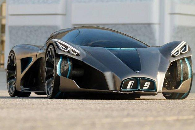 BMW i9 дизайнерский концепт предвосхищает будущее