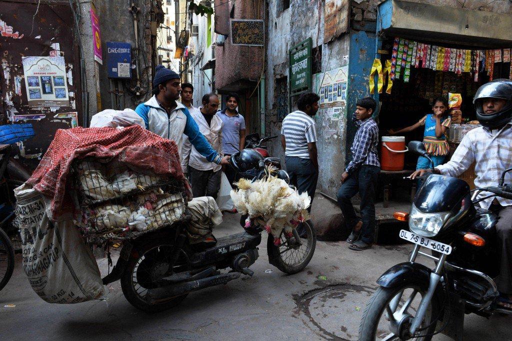 Угол улицы в Нью-ДелиФото: Getty Images
