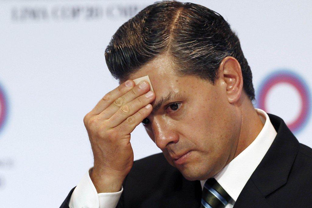 Президент Мексики Энрике Пенья Ньето.Фото: AP