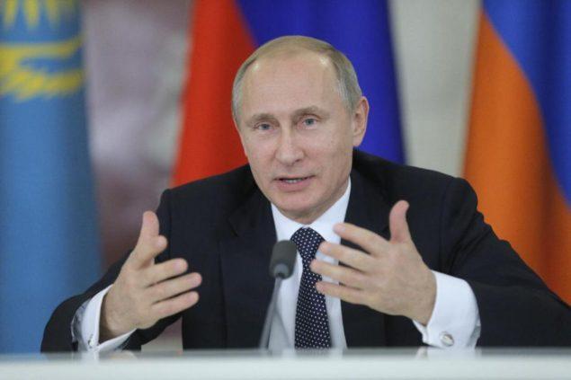 Президент России Владимир Путин предупредил ecoomic кризис может длиться в течение нескольких лет (AFP PHOTO / Максим Shipenkov)