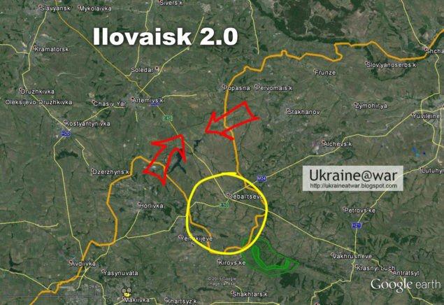 Аналитика: Иловайск 2,0 создается в Дебальцево?