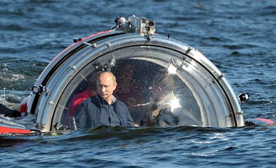 """Путин главный """"дайвер"""" российской экономики"""
