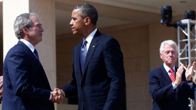 Буш жестко критикует Обаму на Ближнем Востоке