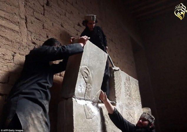 """В ужасе: нападение на древнем месте была объявлена «война с преступностью"""" генеральный секретарь ООН Пан Ги Мун"""