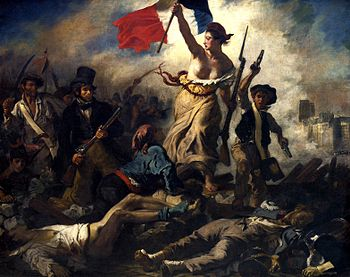 350px-Eugène_Delacroix_-_La_liberté_guidant_le_peuple