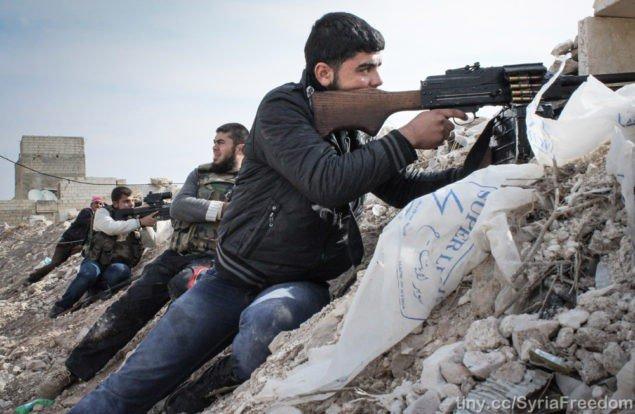 Сирийцы подбили 17 броневиков и российского генерала