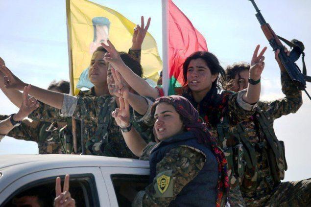 Курдський жіночий підрозділ повстанців|newssky.com.ua