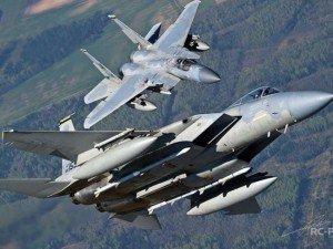 """США перемещает самолеты класса """"воздух-воздух"""" в Сирию"""