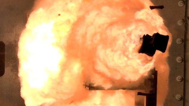 ВМС США испытает электро-магнитную пушку в море