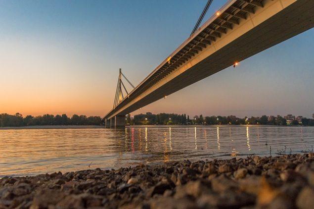 Foto: Novi Sad, Liberty Bridge