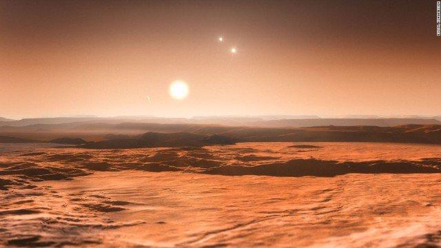 Зображення трьох планет придатих для життя