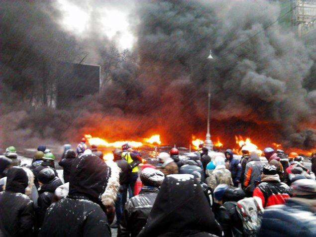 фото: Грушвського 22 січня 2014
