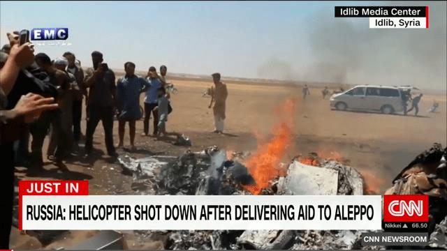 5 загиблих – російський гелікоптер збито в Сирії