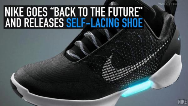 """Nike іде """"Назад в майбутнє"""" і випускає самозавязуючі кросівки"""