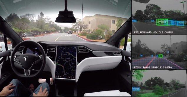 Демо самокерованої Тесли показує нам, що бачить автомобиль