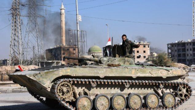 Повстанці Алеппо об'єднуються, оскільки сирійський режим просувається містом