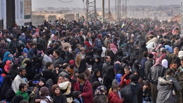Сирійці втікають