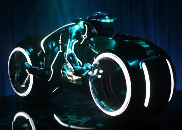 The Tron Lightcycle
