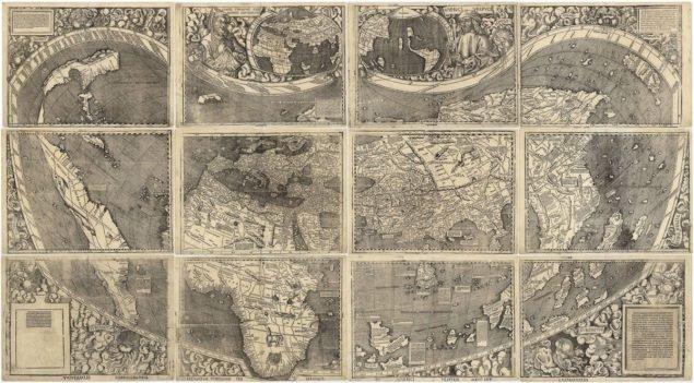 509-річна карта із першим відомим використанням слова «Америка»