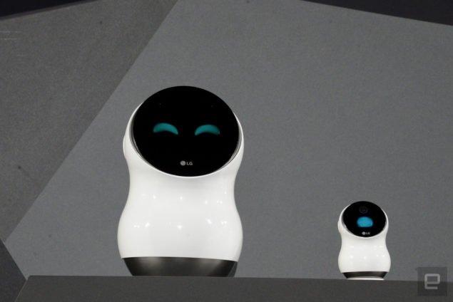 Роботи LG контролюватимуть ваш дім и проведуть вас через аеропорт