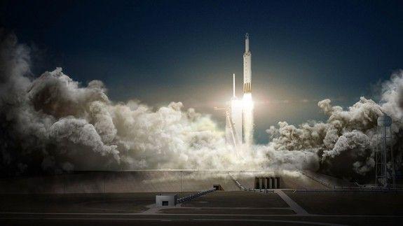 SpaceX випускає перше тестове відео гігантської ракети, яка може доставляти людей на Марс