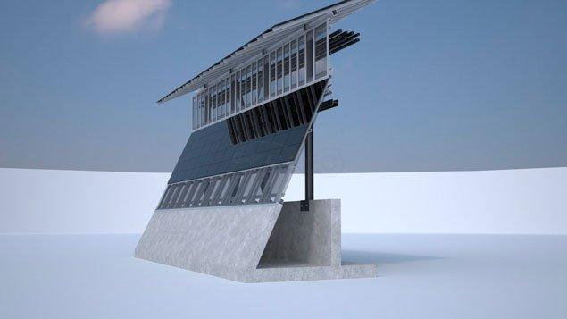 """Трамп """"виплив"""" зі стіною сонячних батарей на кордоні з Мексикою - як це буде виглядати?"""
