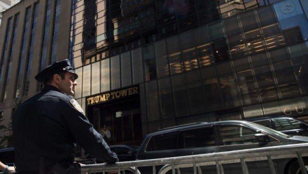 Командний центр секретної служби виселено з вежі Трампа через грошову суперечку