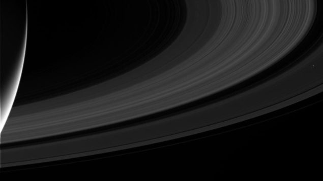 Останні фотографії Кассіні з Сатурна – гідний кінець його історичної місії