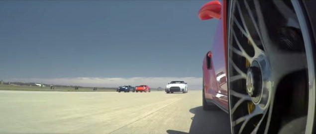 """Суперкари зібрались для гонки на прискорення – Тесла """"знищує"""" усіх"""