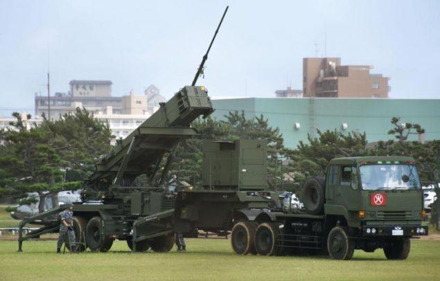 Протиракетна батарея, розгорнута в Хакодате після випробувань північно-корейської ракети