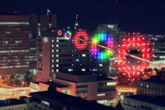 Квантовий зв`язок, продемонстрований в реальних умовах міста