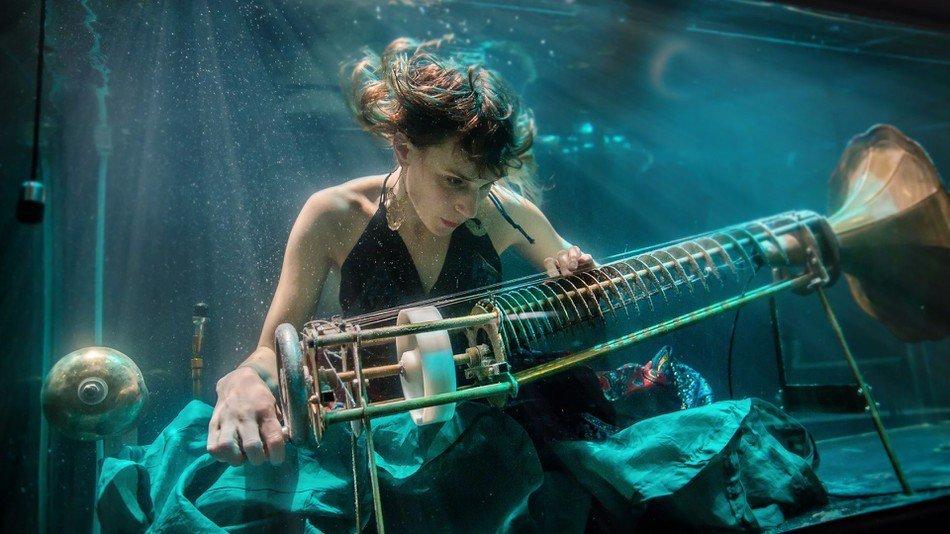 AquaSonic, перший у світі концерт підводної музики