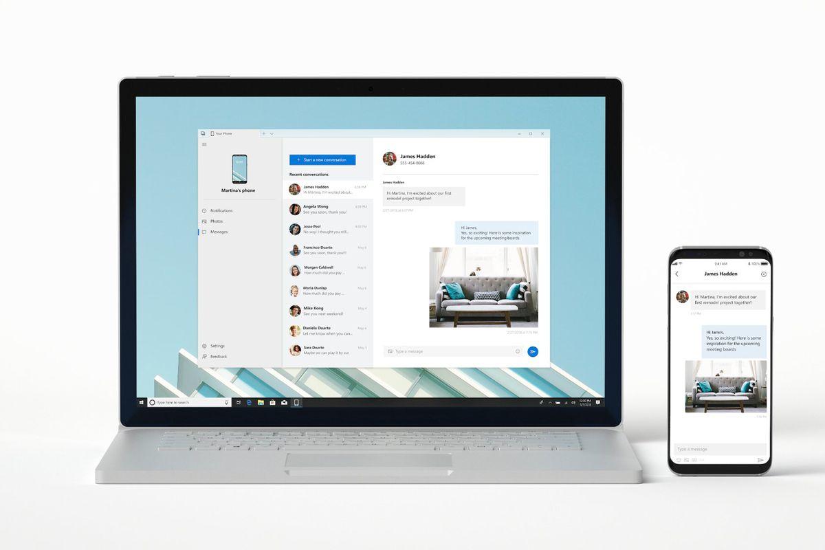 Новий додаток Microsoft Windows 10 відображає функції вашого телефону на ПК