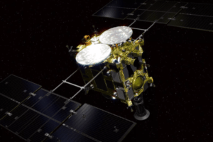 Японcький космічний зонд дістався до астероїду у пошуках походження життя