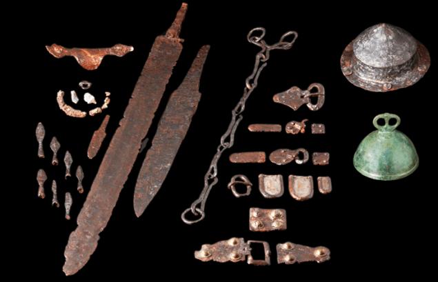 Рештки розкопані у Німеччині дають підстави вважати, що групи середньовічних воїнів вербувалися здалеку