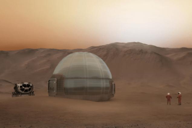 Mars Ice Home: Ілюстрована концепція колонії на Червоній Планеті