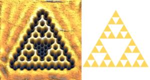 Фізики заплутали електрони у квантовий фрактал