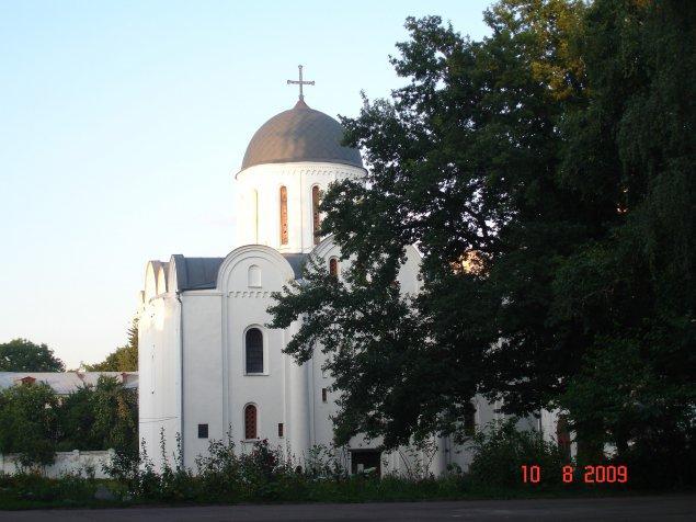 Чернігів. Борисоглібський собор