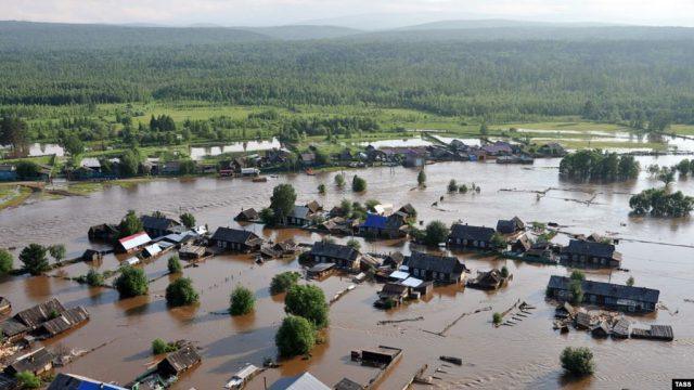 Наводнение Иркутск