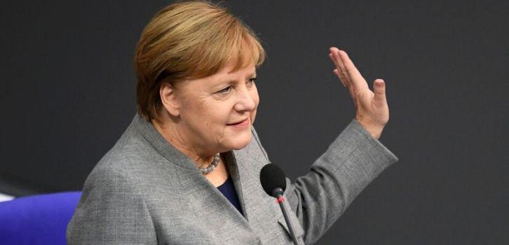 Меркель, Макрон и Джонсон призвали Иран отказаться от силовых акций