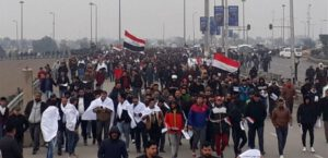 Проиранские политики вывели людей в Багдаде на протест против военных США