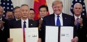 США и Китай подписали первую часть торгового соглашения