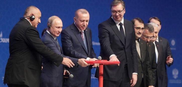 Эрдоган душит Путина его же трубой
