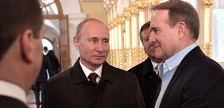 Гастроли Медведчука в ЕС поддерживает пророссийская пятая колонна в Германии