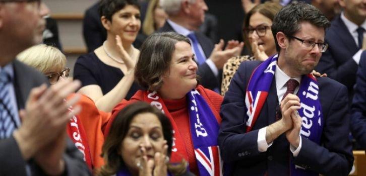 Европарламент ратифицировал договор о выходе Великобритании из ЕС