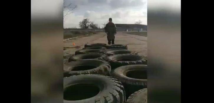 Детскую здравницу в Крыму превратили в лагерь юных военных